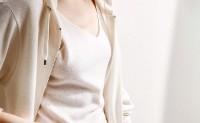 戎美【ZZ0802073】搭配小能手~秋冬舒适BI备 V领羊绒针织吊带